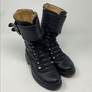 Frye Moto/combat boots